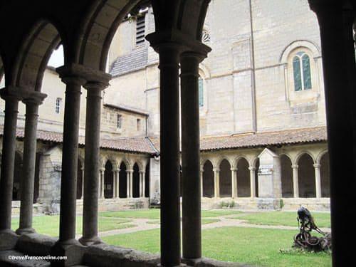 Collegiate Church cloister in Saint Emilion