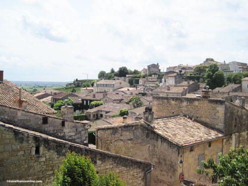 General view of saint Emilion