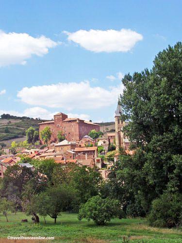 Saint-Izaire episcopal palace - Vabres Abbaye