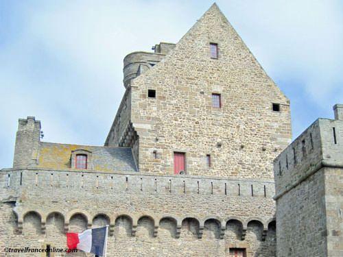 St Malo Fortress - Chateau Gaillard