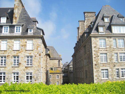 St Malo Fortress - architecture