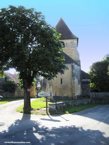 Romanesque church near the Venus de Sireuil