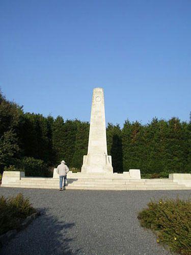 Obelisk in the New Zealand Memorial Park