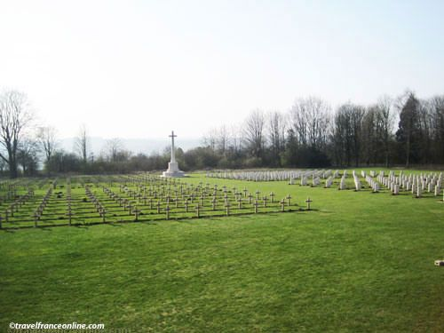 Thiepval Memorial to the Missing in the Somme - French-British Cemetery