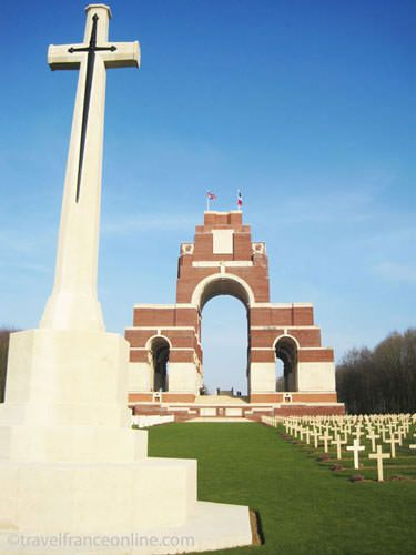 Thiepval Memorial to the Missing in the Somme