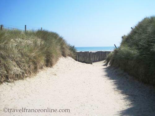 Utah Beach - Breach where Theodore Rossevelt Jr and his men exited