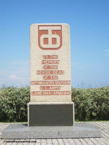 Utah Beach - 90th Infantry Division Memorial