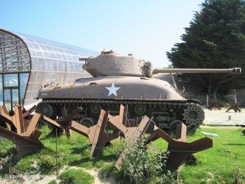 Utah Beach Museum exhibits