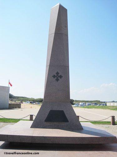 Utah Beach - US 4th Infantry Division Memorial