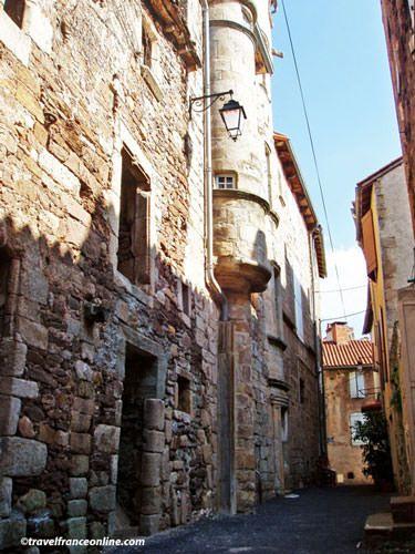 Maison des Echevins in Vabres Abbaye