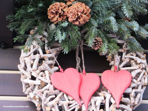 Valentines Day - hearts wreath