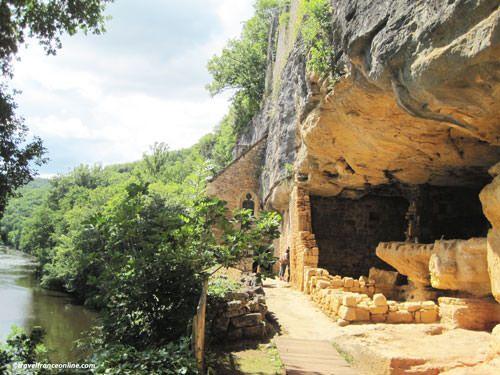 Vezere Valley - La Madeleine rock shelter