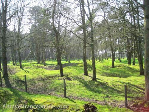 Vimy Ridge Canadian National Memorial Park - Battlefield kept in its war state