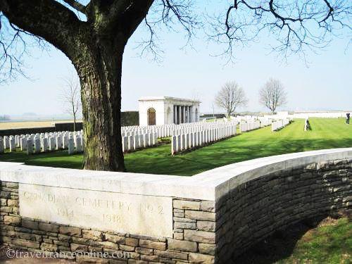 Vimy Ridge Canadian National Memorial Park - CWGC Canadian Cemetery No2