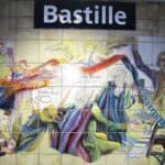 Bastille Metro station - La Constitution