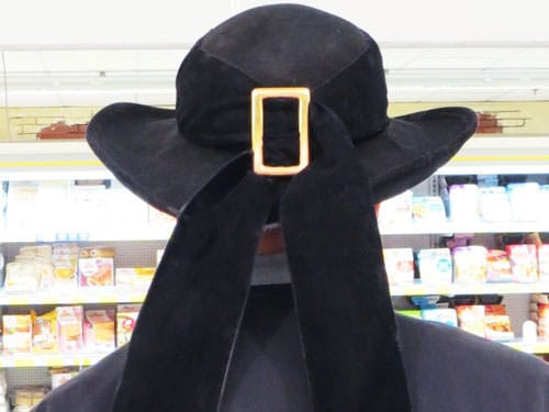 Breton iconic images - Breton tradition male hat