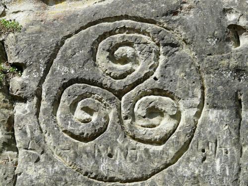 Breton iconic images - Triskel