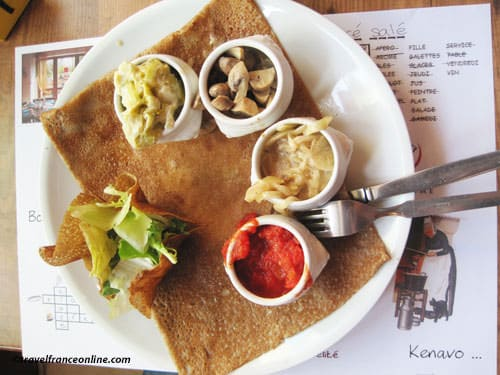 Breton iconic images - Crepes or pancakes