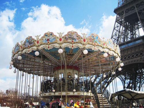 Carrousels - Tour Eiffel