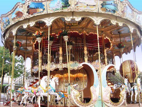 Carrousels - Jardins du Trocadero