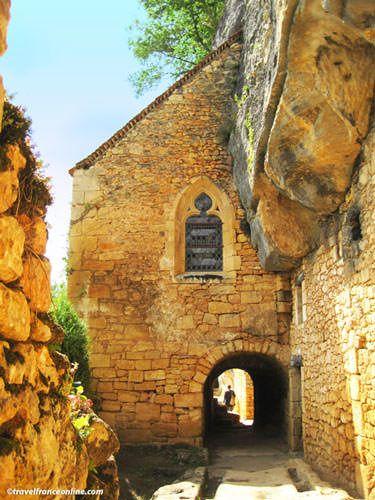 Chapel of La Madeleine rock shelter