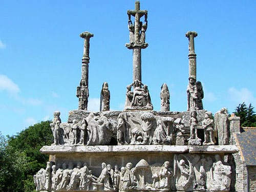 Breton iconic images - Calvary