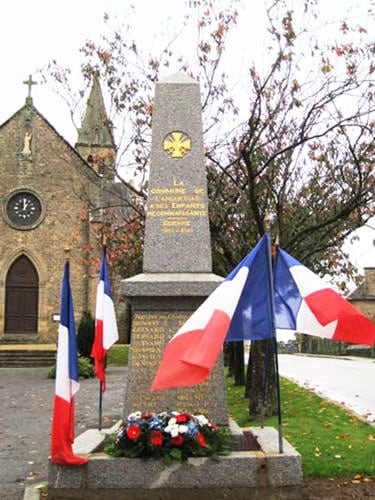 Remembrance Day in a French village