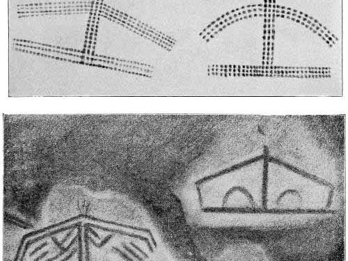 Tectiforms found in Font de Gaume