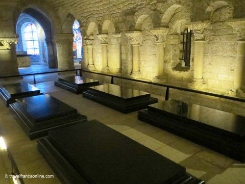 Suger Crypt in Saint Denis Basilique