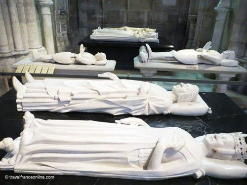 Valois kings - Charles V & Jeanne de Bourbon in Saint Denis Basilique