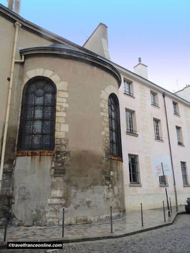 Manufacture des Gobelins chapel today today - underground Bievre