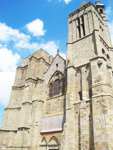 Saint-Samson Cathedral main facade in Dol de Bretagne