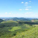Auvergne extinct volcanoes