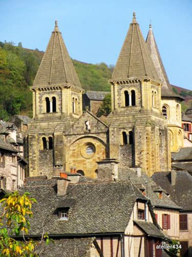 Abbey church of Conques