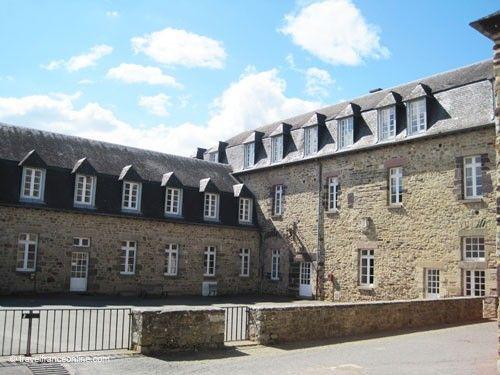 Paimpont Abbey - monastic buildings