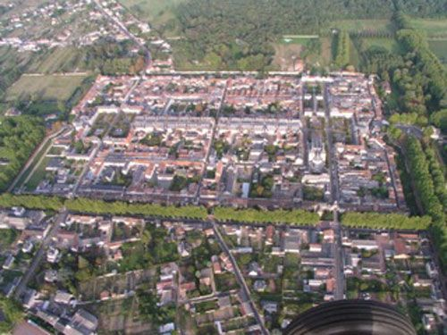 Aerial view of Richelieu