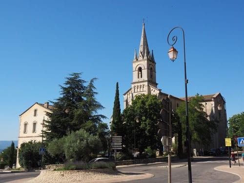 New church of Bonnieux