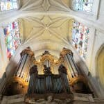 Organ played by Camille Saint Saens in Saint-Merry Church