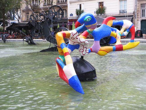 Stravinsky Fountain - L'Oiseau de Feu - Firebird