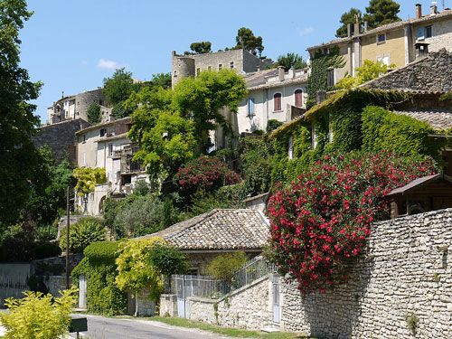 Menerbes - Picturesque village houses