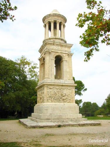 Mausoleum marking the necropolis