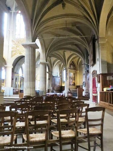 Saint-Medard Church Gothic architecture