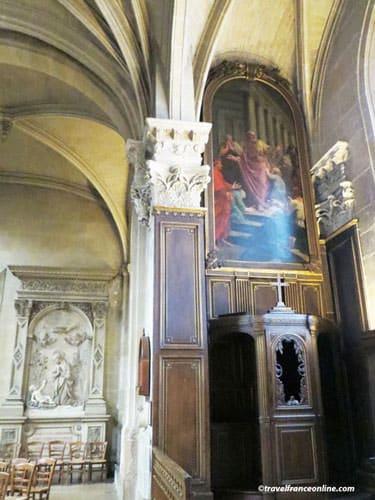 Saint-Medard Church - Lateral chapel