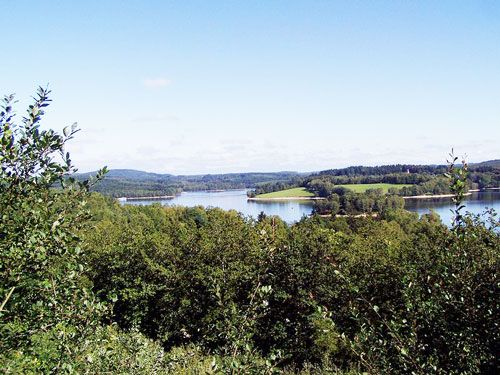 Lac de Vassiviere - Largest lake in Limousin