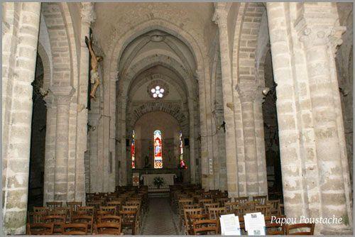 Charroux church