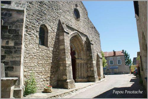 St. Jean Baptiste Church in Charroux