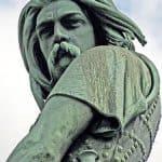 Statue of Vercingetorix in Alesia
