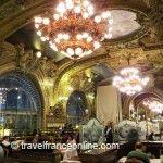 Le Train Bleu restaurant in Gare de Lyon - Main dining room