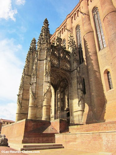 Flamboyant entrance porch of the Cathedral of Albi