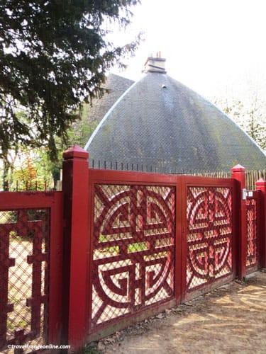 Buddhist Temple in Bois de Vincennes